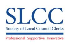 society of local council clerks graphic logo professional supportive innovative