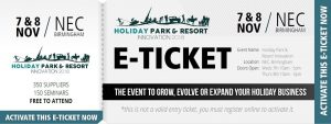 Proludic Holiday Park Innovation Show free ticket