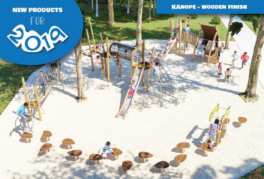 Kanope - Wooden Finish